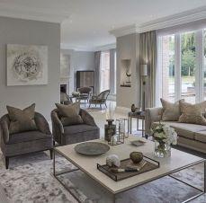 Relaxing formal living room decor ideas 18