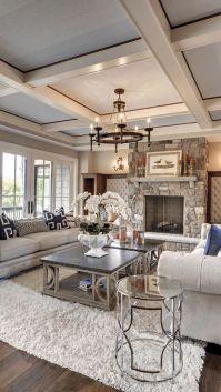 Relaxing formal living room decor ideas 37