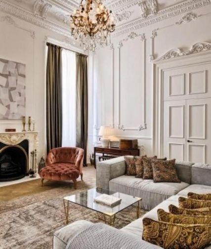 Relaxing formal living room decor ideas 40