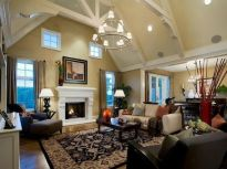 Relaxing formal living room decor ideas 42