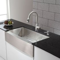Relaxing undermount kitchen sink white ideas 05