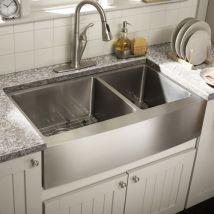 Relaxing undermount kitchen sink white ideas 20