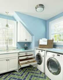 Stunning laundry room decor ideas 07