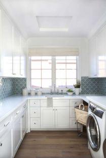 Stunning laundry room decor ideas 14