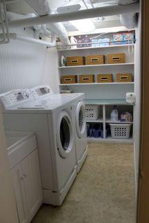 Stunning laundry room decor ideas 27