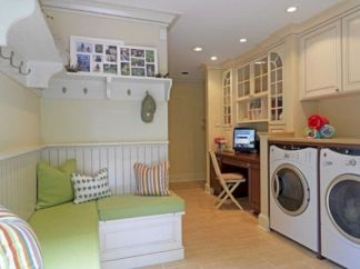 Stunning laundry room decor ideas 36