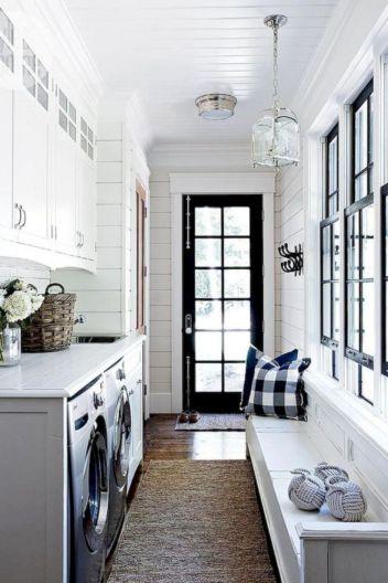 Stunning laundry room decor ideas 37