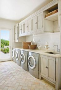 Stylish cabinets for laundry room 05