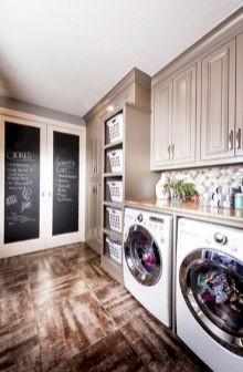 Stylish cabinets for laundry room 09
