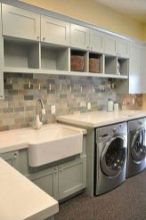 Stylish cabinets for laundry room 17