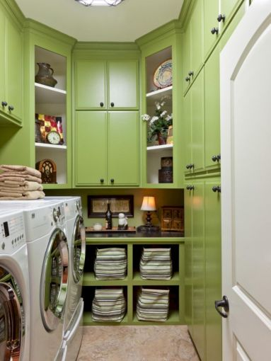 Stylish cabinets for laundry room 21