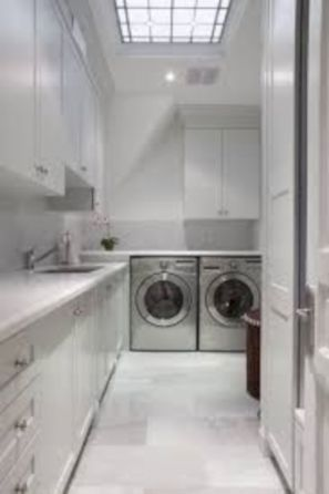 Stylish cabinets for laundry room 22