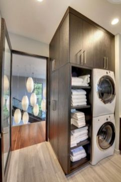 Stylish cabinets for laundry room 24