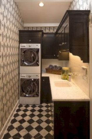 Stylish cabinets for laundry room 26