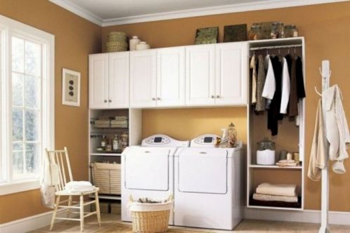 Stylish cabinets for laundry room 32
