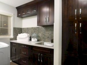 Stylish cabinets for laundry room 37