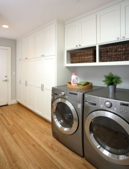 Totally inspiring laundry room wall cabinets ideas 04