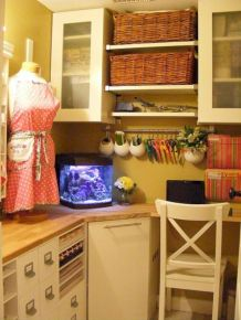 Totally inspiring laundry room wall cabinets ideas 25