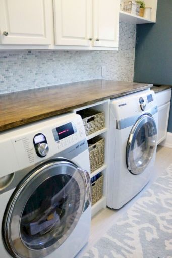 Totally inspiring laundry room wall cabinets ideas 35