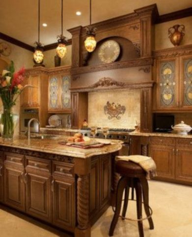 Unordinary italian rustic kitchen decorating ideas to inspire your home 10