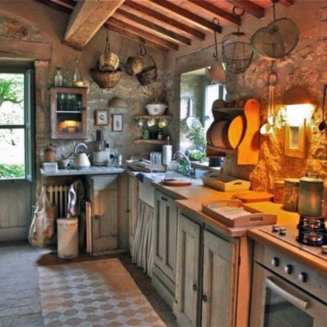 20 Italian Kitchen Ideas That Will Inspire You: 40 Unordinary Italian Rustic Kitchen Decorating Ideas To