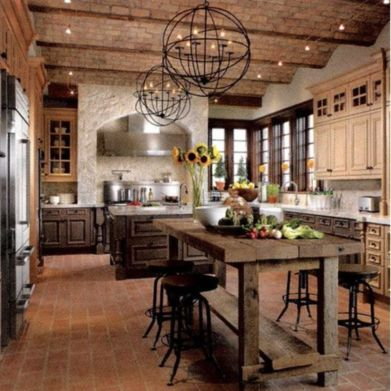 Unordinary italian rustic kitchen decorating ideas to inspire your home 34