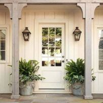 Amazing farmhouse porch decorating ideas 40