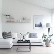 Amazing modern minimalist living room layout ideas 14
