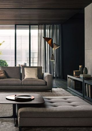 Amazing modern minimalist living room layout ideas 24