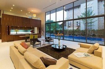 Amazing modern minimalist living room layout ideas 28
