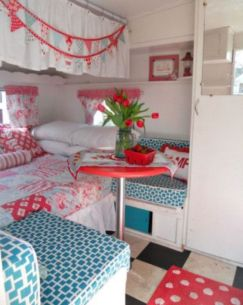 Antique diy camper interior remodel ideas you can try right now 06