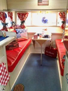 Antique diy camper interior remodel ideas you can try right now 39