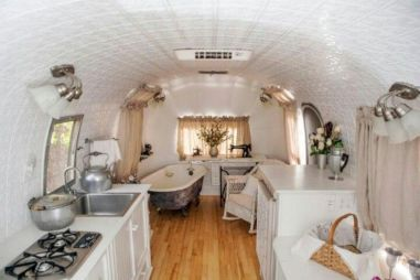 Antique diy camper interior remodel ideas you can try right now 42