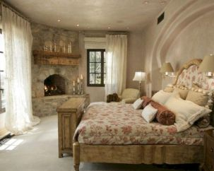 Attractive rustic italian decor for amazing bedroom ideas 17