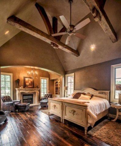 Attractive rustic italian decor for amazing bedroom ideas 23