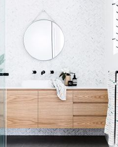 Best ideas how to creating minimalist bathroom 16