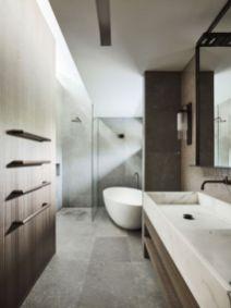 Best ideas how to creating minimalist bathroom 24