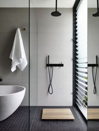 Best ideas how to creating minimalist bathroom 37
