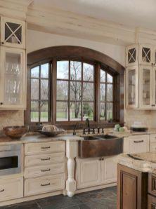 Brilliant rustic farmhouse kitchen cabinets remodel ideas 06
