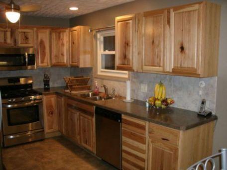 Brilliant rustic farmhouse kitchen cabinets remodel ideas 10