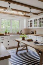 Brilliant rustic farmhouse kitchen cabinets remodel ideas 12