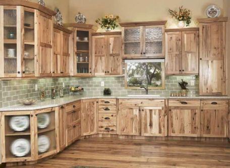 Brilliant rustic farmhouse kitchen cabinets remodel ideas 34