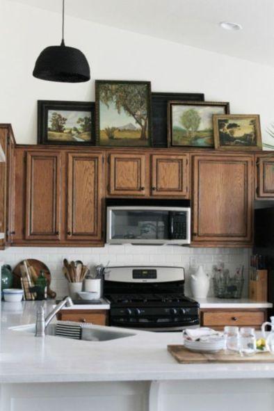 Brilliant rustic farmhouse kitchen cabinets remodel ideas 41