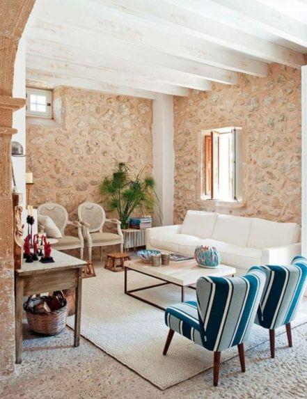 Chic home mediterranean interiors design ideas 37