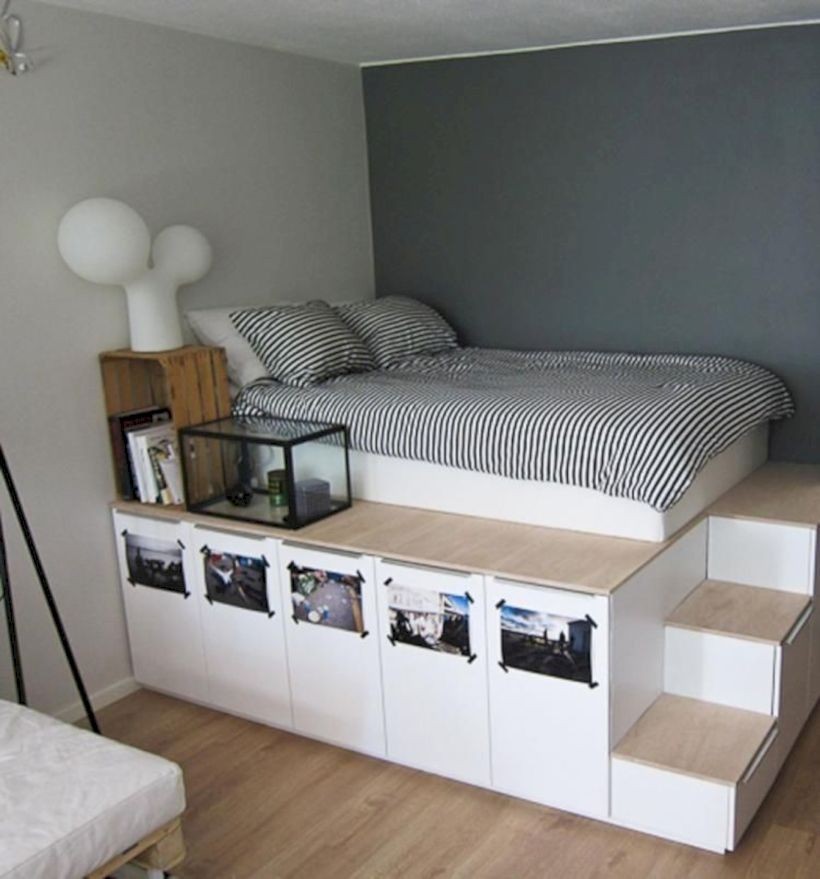 Comfy and cozy small bedroom ideas 06