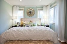 Comfy and cozy small bedroom ideas 24