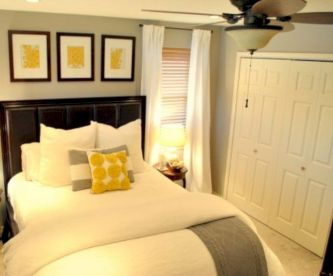 Comfy and cozy small bedroom ideas 39