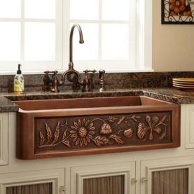 Cool farmhouse kitchen sink remodel ideas 08