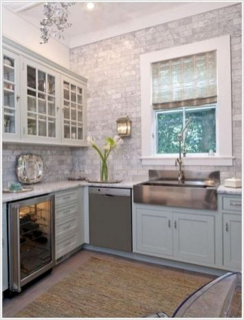 Cool farmhouse kitchen sink remodel ideas 09