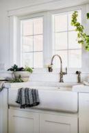 Cool farmhouse kitchen sink remodel ideas 22